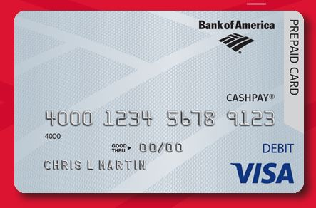 How To Activate Bank Of America Cashpay Visa Card Www